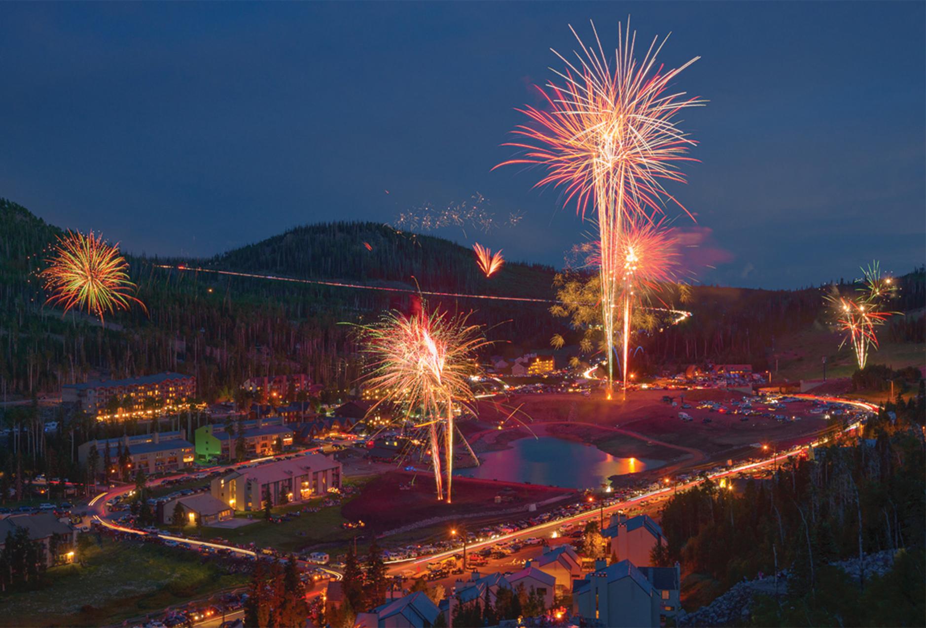 Fireworks Display in Brian Head Utah
