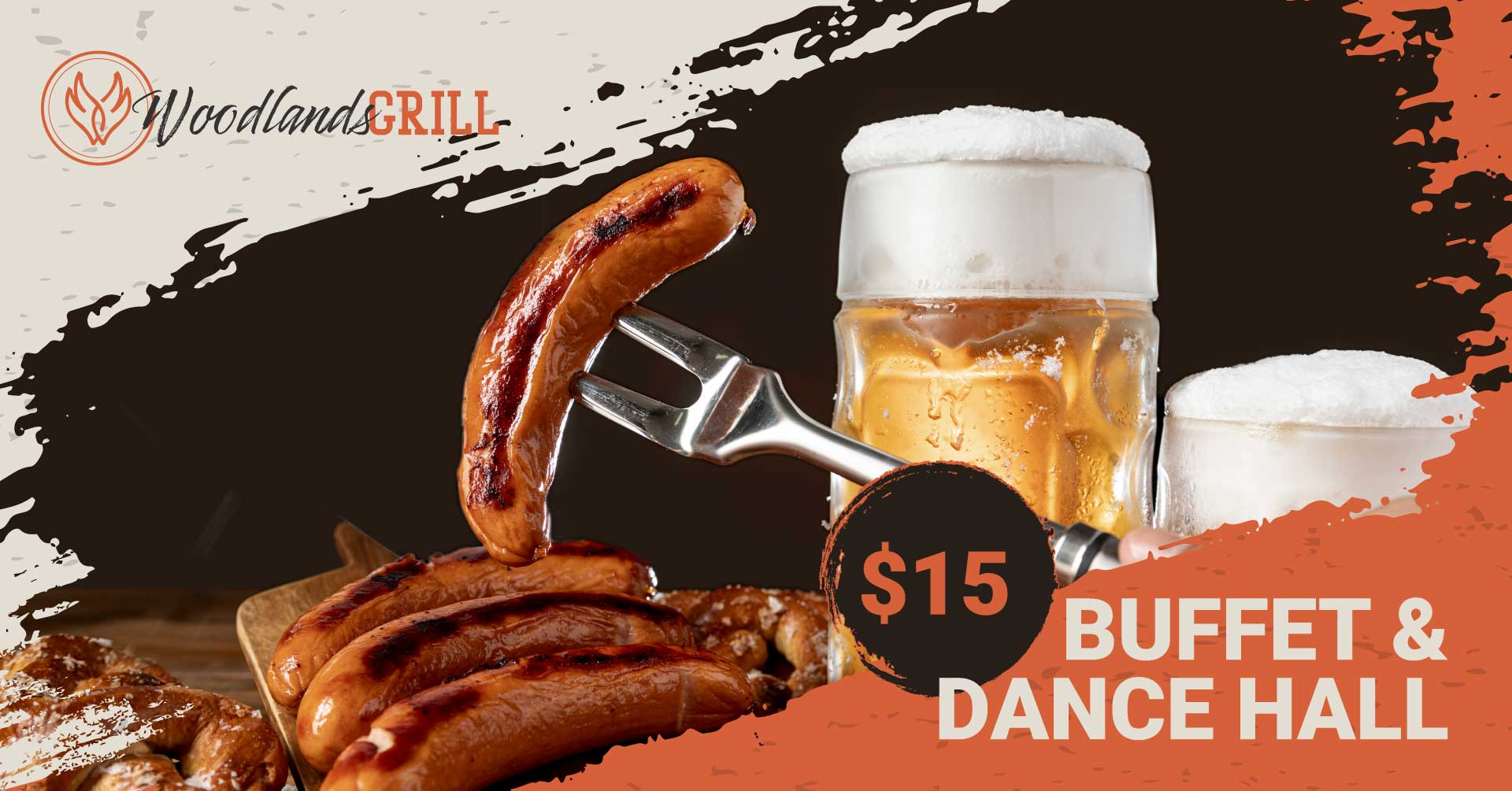 Cold Beer and Grilled Bratwurst